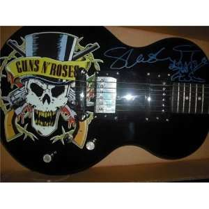 Autographed/Hand Signed Electric Guitar W/Logo