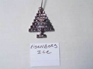 Here is a fabulous Designer Signed, Eisenberg Ice, Rhinestone