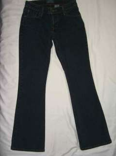 LEVI STRAUSS Low Rise Slim Boot Cut Jean Size Juniors 3
