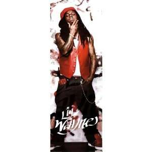Lil Wayne (Red Hat, Door) Music Poster Print