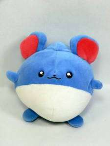 Pokemon Marill Soft Plush   Japanese Doll 2000