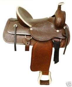 CIRCLE S   NEW WESTERN PLEASURE ROPING HORSE SADDLE 16