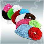 12 Pcs Baby Toddler Girls Crochet Headband Hair Band