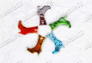 Wholesale lots 30 Murano Glass high heel shoes Pendants