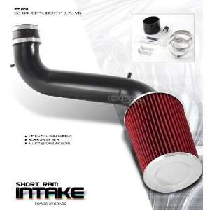 Jeep Liberty SUV 3.7L V6 02 03 04 Short Ram Air Intake