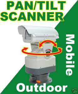 Heavy Duty CCTV Outdoor Scanner 0 350°Pan & +/ 60°Tilt