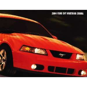 2004 Ford Mustang SVT Cobra Original Sales Brochure