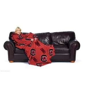 South Carolina Gamecocks NCAA Adult Comfy Fleece Throw