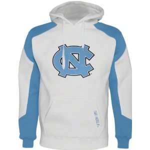North Carolina Tar Heels White Challenger Pullover Fleece