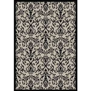 Dynamic Rugs Piazza French Indoor/Outdoor Area Rug   Sand