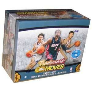 Topps 2007 08 Trademark Moves NBA Trading Card Box Toys & Games
