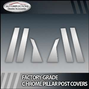 09 12 Infiniti Fx 35 6Pc Chrome Pillar Post Covers