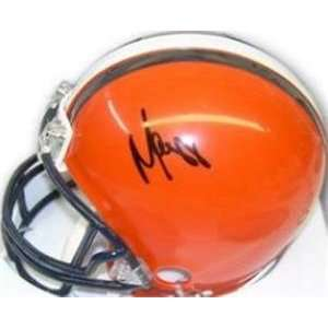 Marvin Harrison autographed Football Mini Helmet (SYRACUSE