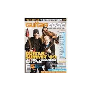 Guitar Edge Magazine Back Issue   Jan/Feb 2009
