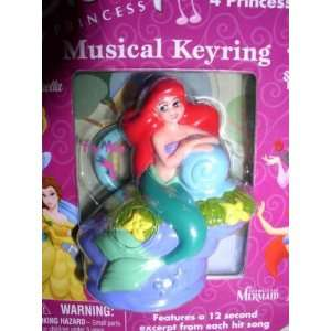 Disney Princess The Little Mermaid Ariel Musical Keyring Toys & Games