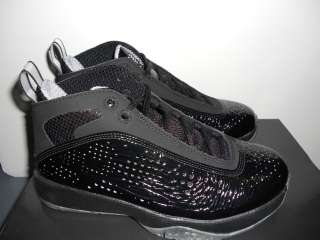 Nike Air Jordan 2011 Kids Basketball Shoe Black/Dark Charcoal 438990