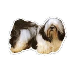 LHASA APSO   Dog Decal   sticker dogs car got window