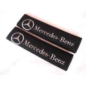 10 Mercedes Benz Logo Car Seat Belt Shoulder Pads(2 Pcs