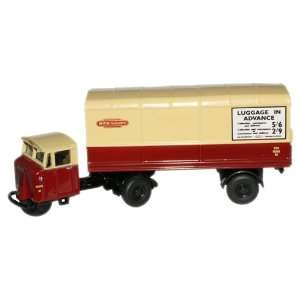 Oxford Diecast 1/76 Scale BR Scammell Mechanical Horse Van
