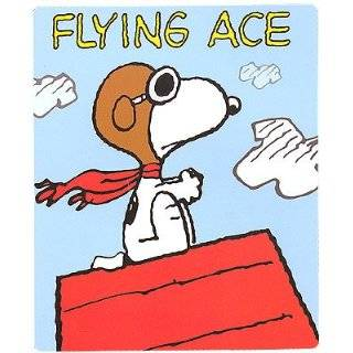 & Woodstock Flying Ace Music Box / Animated Figurine