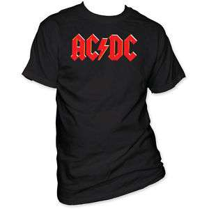 New AC/DC Classic Logo T Shirt Mens Sizes top tee acdc