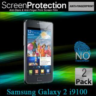 S2 i9100 Anti Glare Fingerprint Screen Protector Matte Film