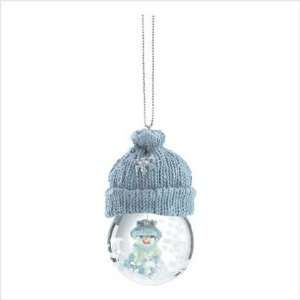 Snowbuddies Snowglobe Ornament Holiday Christmas Gift