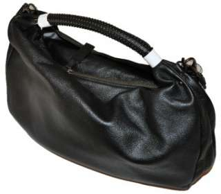 New Boxed KENNETH COLE NEW YORK Handbag Purse NO SLOUCH HOBO Black