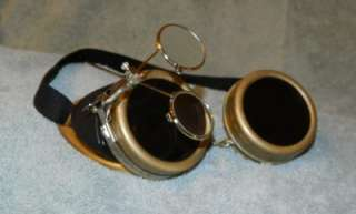 GOTHIC STEAMPUNK GOGGLES VINTAGE STYLE WELDING GLASSES SAFETY