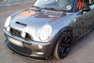 BMW MINI COOPER R53 Hamann style Add on Front Lip Spoiler CARBON FIBER