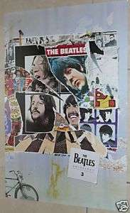 THE BEATLES * Anthology 3 Promo Poster * Album Cover