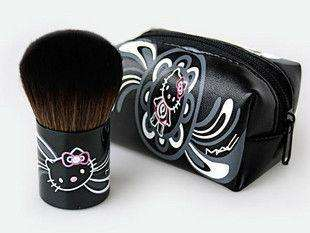 Hot Small Mini Cute Hello Kitty Makeup Brush and Pouch Purse Bag