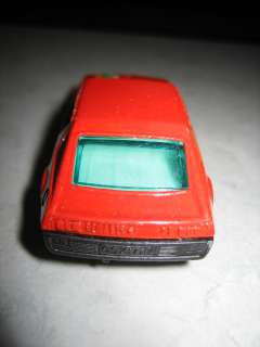 MATCHBOX #62 RENAULT 17 TL LESNEY 1974 SUPERFAST RED