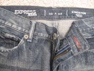 Express Blue Jeans Holes Stylish casual formal pants kingstone