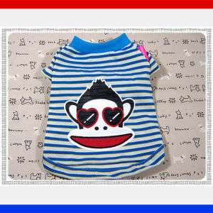 Small Dog Clothes Monkey Costume Pet Apparel Shirts,870