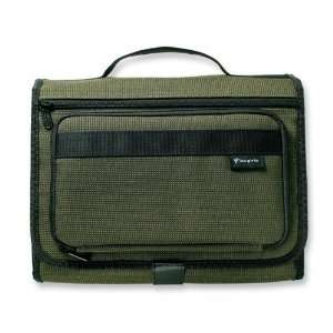 Bible Cover   Deluxe Tri Fold Organizer Large Olive Green