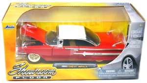 Jada Toys 1960 Red Chevy Impala 124 Scale (Red)