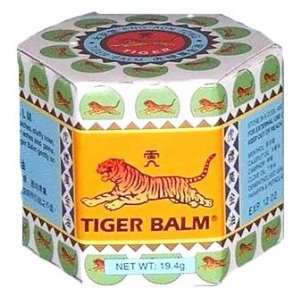 White Tiger Balm Herbal Ointment 30g Relief Muscular Pain