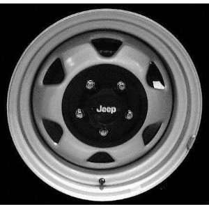 93 JEEP GRAND CHEROKEE STEEL WHEEL RH (PASSENGER SIDE) RIM 15 INCH SUV