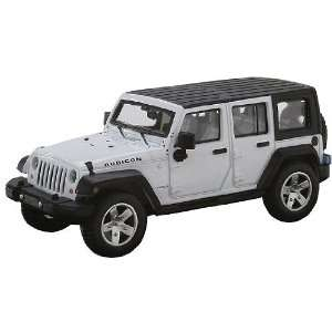 Atlas HO RTR 2007 Jeep Wrangler Unlimited, White Toys & Games