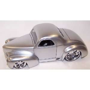 Scale Diecast Dub City 1941 Willys Coupe in Color Silver Toys & Games
