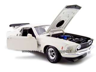 model of 1969 Ford Mustang Boss 429 die cast car by Unique Replicas