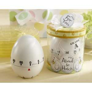 Baby Shower Kitchen Egg Timer in Gift Box Baby Shower Party Favors