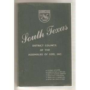 South Texas District Council of the Assemblies of God   1992 Year Book