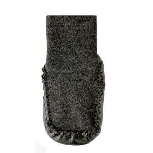 Non Skid Baby Slipper Socks (1, Charcoal)
