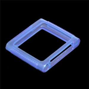 Soft TPU Gel Case Cover for iPod Nano 6th Generation (Blue