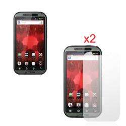 Anti Fingerprint Screen Protector for Motorola Droid Bionic (Pack of 2
