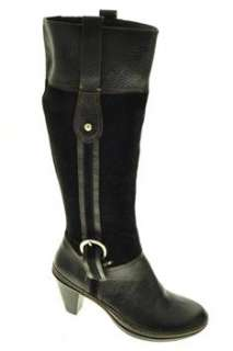 Naturalizer Dandy Womens Knee High Boots Black Leather 6
