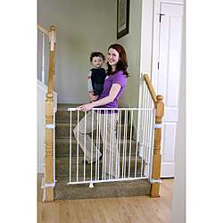Regalo Top of Stairs 2 in 1 Extra Tall Safety Gate