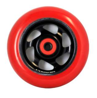 PHOENIX Scooter Wheel   INTEGRA   6 SPOKE   RAZOR   ENVY   RED/BLACK
